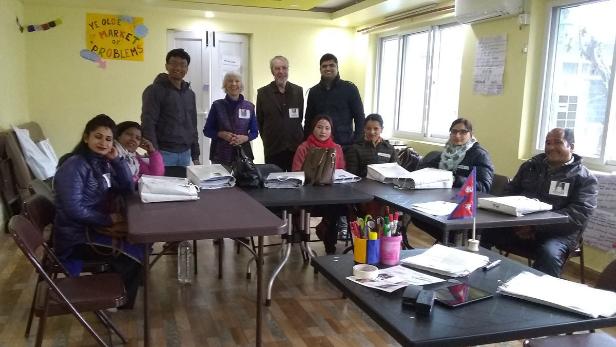Bhupi-Laxmi-teachers-workshop