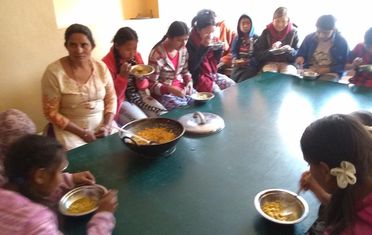 Orphange-supper