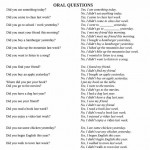 Oral questions