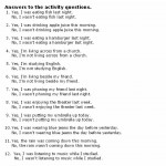 Activity Answers